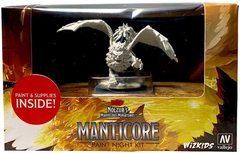Dungeons & Dragons Nolzur's Marvelous Miniatures: Manticore Paint Night Kit