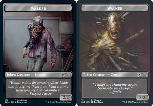 Walker (Metal Head) Token // Walker (Winslow) Token - Foil