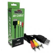 Old Skool AV Cable for the Original XBOX