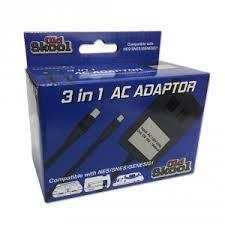 Old Skool High Powered 3 IN 1 AC Adapter - SNES / NES / Genisis 1