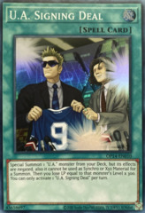 U.A. Signing Deal - OP14-EN010 - Super Rare - Unlimited Edition
