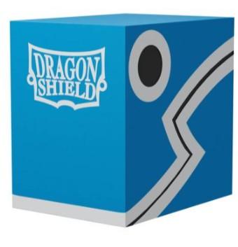 Dragon Shield Double Deck Shell Blue Black