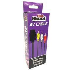 Old Skool AV Cable For SNES / N64 / GameCube