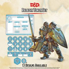 D&D Token Set: Paladin