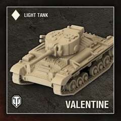 World of Tanks: Wave 1 - British (Valentine), Light Tank