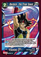 Bardock, the Final Spark - DB3-028 - UC