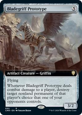 Bladegriff Prototype - Foil - Extended Art