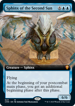 Sphinx of the Second Sun - Foil - Extended Art