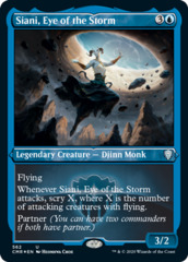 Siani, Eye of the Storm - Foil Etched