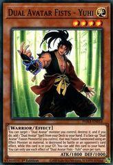 Dual Avatar Fists - Yuhi - PHRA-EN014 - Super Rare - 1st Edition