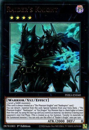Raiders Knight - PHRA-EN040 - Ultra Rare - 1st Edition