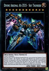 Divine Arsenal AA-ZEUS - Sky Thunder - PHRA-EN045 - Secret Rare - 1st Edition