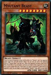 Myutant Beast - PHRA-EN087 - Super Rare - 1st Edition