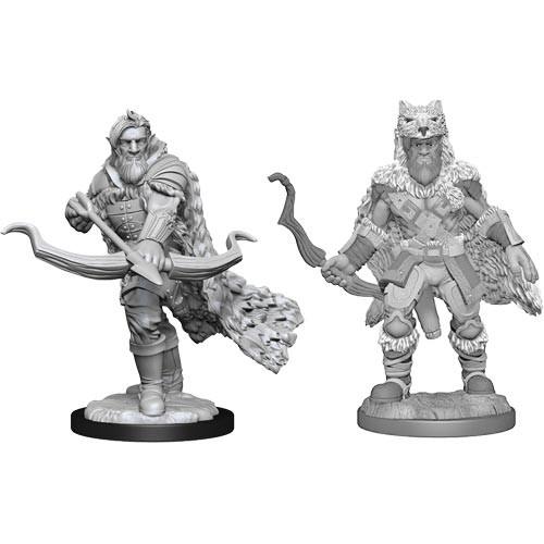 D&D Nolzurs Marvelous Unpainted Miniatures: W14 Male Firbolg Ranger