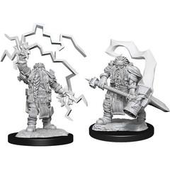 D&D Nolzur's Marvelous Unpainted Miniatures: W14 Male Dwarf Cleric