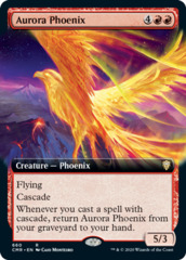 Aurora Phoenix - Foil - Extended Art