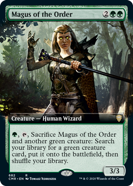 Magus of the Order - Extended Art
