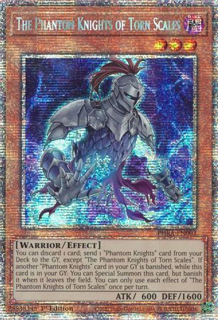The Phantom Knights of Torn Scales - PHRA-EN003 - Starlight Rare - 1st Edition