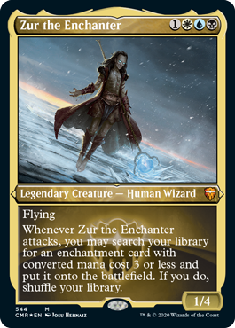 Zur the Enchanter - Foil Etched