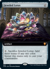Jeweled Lotus - Foil - Extended Art