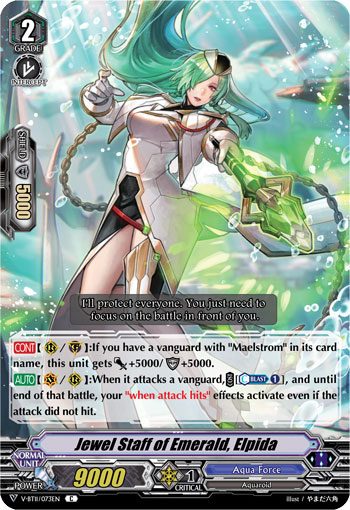 Jewel Staff of Emerald, Elpida - V-BT11/073EN - C