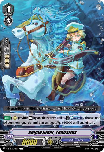 Kelpie Rider, Toddarius - V-BT11/074EN - C