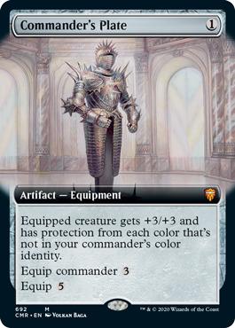 Commanders Plate - Extended Art