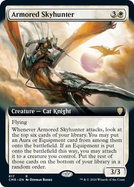 Armored Skyhunter - Extended Art