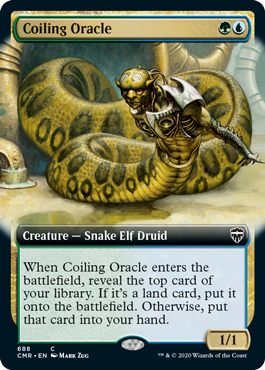 Coiling Oracle - Extended Art