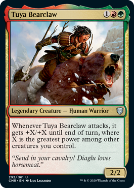 Tuya Bearclaw - Foil