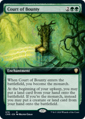 Court of Bounty - Foil - Extended Art