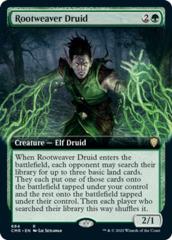 Rootweaver Druid - Foil - Extended Art