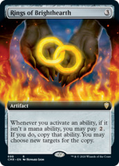 Rings of Brighthearth - Foil - Extended Art