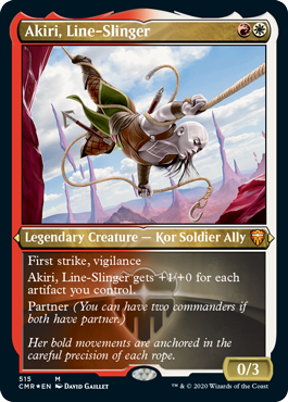 Akiri, Line-Slinger - Foil Etched