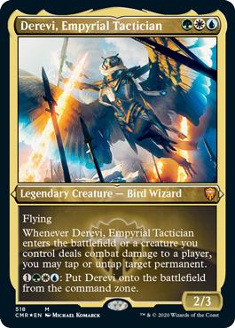 Derevi, Empyrial Tactician - Foil Etched