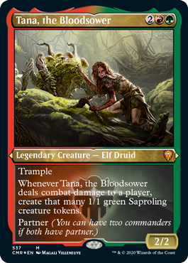 Tana, the Bloodsower - Foil Etched