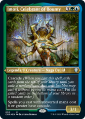 Imoti, Celebrant of Bounty - Foil Etched