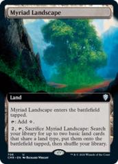 Myriad Landscape - Foil - Extended Art