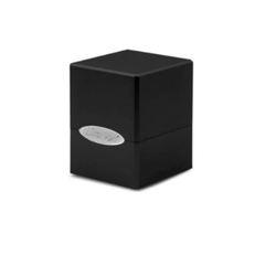 Ultra Pro Deck Box: Jet Black Satin Cube