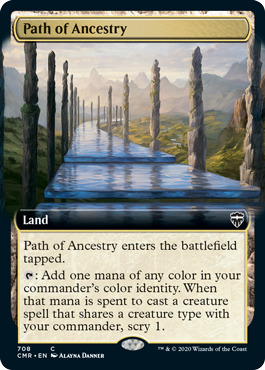 Path of Ancestry - Foil - Extended Art