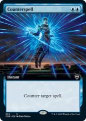 Counterspell - Foil - Extended Art