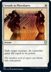 Swords to Plowshares - Theme Deck Exclusive