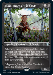 Miara, Thorn of the Glade - Foil Etched
