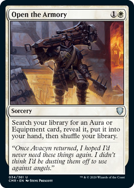 Open the Armory