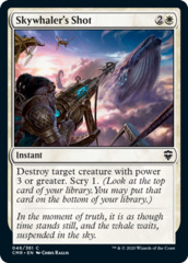 Skywhaler's Shot - Foil