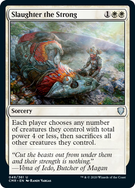Slaughter the Strong - Foil