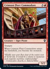 Crimson Fleet Commodore - Foil