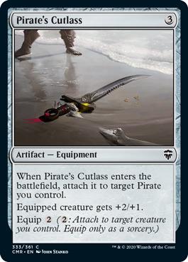 Pirates Cutlass - Foil