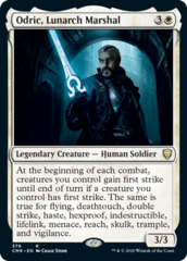 Odric, Lunarch Marshal - Theme Deck Exclusive