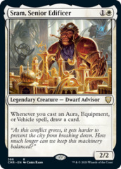 Sram, Senior Edificer - Theme Deck Exclusive